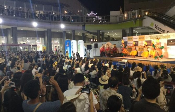 Tahiti Festa 2017 お台場ヴィーナスフォート